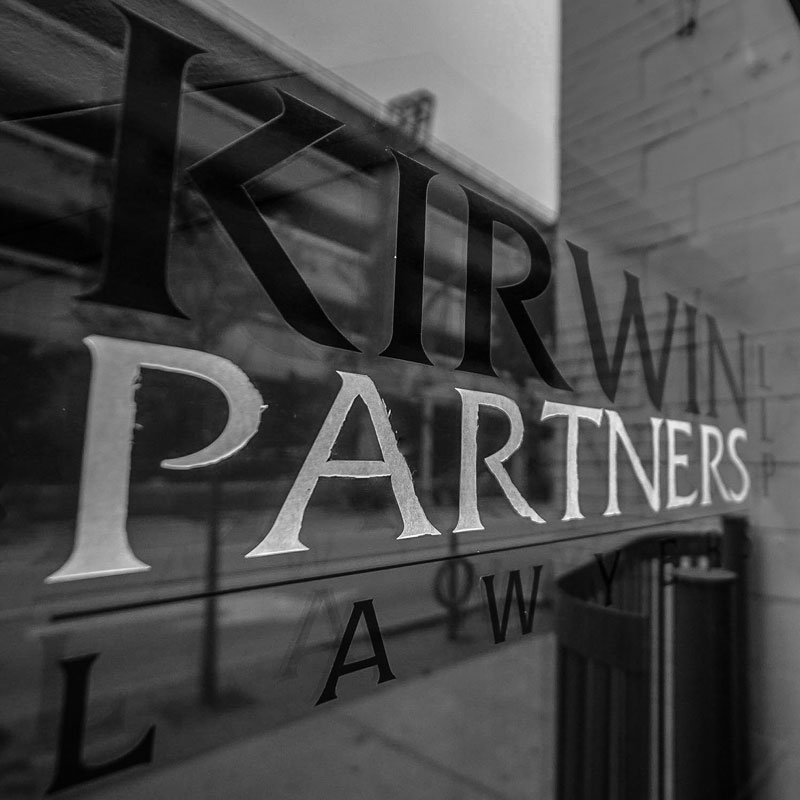 Kirwin Partners Outdoors Sign